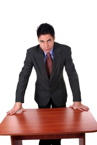 bigstockphoto_Businessman_Asking_Questions_95453