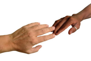 bigstockphoto_African_And_Caucasian_Fingers__4307946